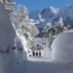 Италию завалило снегом!