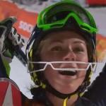 Микаэла Шиффрин олимпийская чемпионка