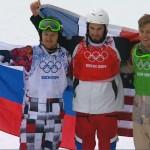 Серебро в мужском сноубордкроссе для России!