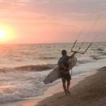 Коса Должанская, серф-приют, Азовское море. Фото: Валерий Симонов.