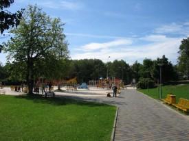 Приморский парк в Лиепая, Латвия.