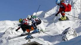 Ски кросс на Олимпиаде в Сочи.