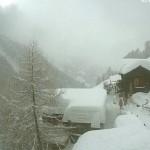 Новые снегопады в Альпах