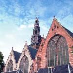 Ауде Керк, Амстердам, Голландия.