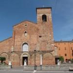 Базилика Сан-Вичиньо / San Vicinio в городе Сарсино, Эмилиа-Романия, Италия.