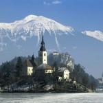Озеро Блед, Словения.