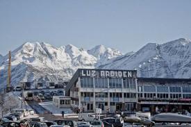 Горнолыжный курорт Люз Ардиден, Новые Пиренеи, Франция.