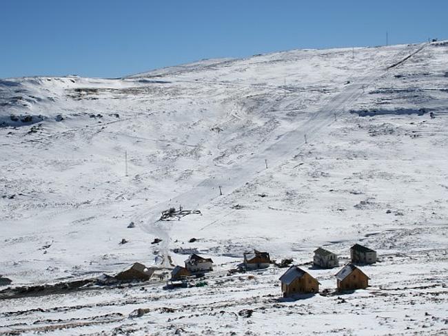 Горнолыжный курорт Африски / Afriski, Лесото, Южная Африка.
