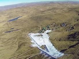 Вид на Тиффиндел с воздуха.