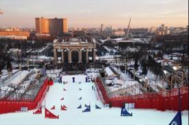 Параллельный слалом в Москве. ВВЦ, февраль 2013 г.