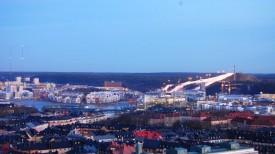 Холм Хаммарбюбакен, Стокгольм, Швеция.