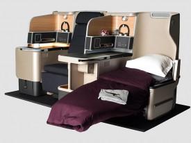 Новое сиденье люкс для бизнес класса предлагает больше мест для хранения электронных устройств. Авиакомпания Квантас / Qantas представила свой окончательный проект новых сидений бизнес класса «люкс» для своего A330 флота.