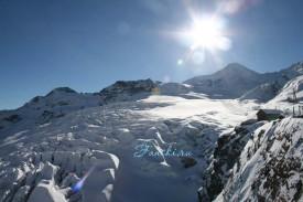 Ледник Саас Фе, Швейцария.