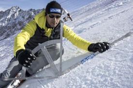 Мониторинг состояния снега в Зельдене.