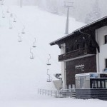 Сильные снегопады в Альпах