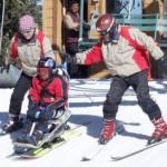 Горные лыжи будут использовать для лечения детей-инвалидов