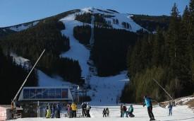 Банско, Болгария, был назван как самый дешевый семейный горнолыжный курорт. Фото: Getty.