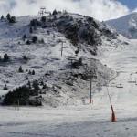 Первые снегопады сезона в Грандвалире