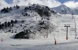 В Грандвалира выпал первый снег.
