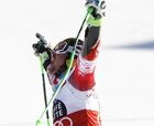 Hirscher in Alta Badia 22 Dec 2014