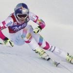 Линдси Вонн побеждает в скоростном спуске в Валь д'Изере
