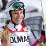 Линдси Вонн побеждает в Италии
