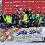 Историческая победа Линдси Вонн в Супер-Джи в Кортина-д'Ампеццо