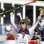 Шиффрин отметилась в Загребе своей второй подряд победой