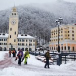 На сочинских горнолыжных курортах объявлено экстренное предупреждение о лавинной опасности