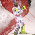 Гранж завоевывает первое золото для Франции в слаломе в Бивер-Крик