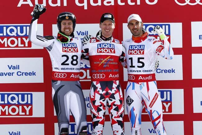1. Ханнес Райхельт (Австрия) 2. Дастин Кук (Канада)3. Адриен Тео (Франция)