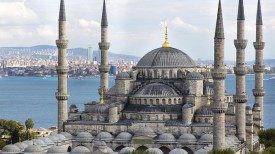 Голубая Мечеть, Стамбул.