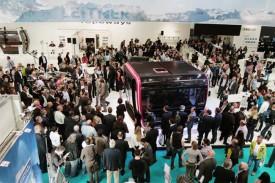 Кабина нового подъемника, представленная на Салоне Интеральпин 2015.