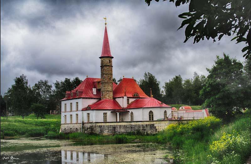 Приоратский Дворец в Гатчине.