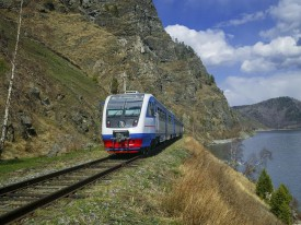 Новая железнодорожная сеть будет построена рядом с нынешней Транс-Сибирской железной дорогой. Фото: Гетти Имадж.