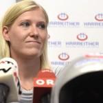 Андреа Фишбахер завершила спортивную карьеру