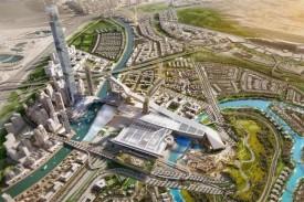 """Проект крытого горнолыжного центра """"Мейдан Один"""", Дубай."""