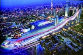 """Проект крупнейшего в мире крытого горнолыжного центра """"Мейдан Один"""", Дубай."""