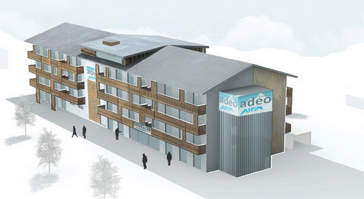 Сеть семейных отелей для горнолыжников Адео-Альпин.
