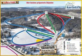 хема трасс горнолыжного курорта Ахельберглифт-Карслифт