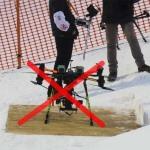 FIS запрещает использование дронов в своих соревнованиях