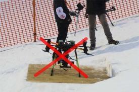 ФИС запрещает использование дронов