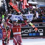 Хенрик Кристоферсен завоевывает свою пятую победу в слаломе в Валь д'Изере