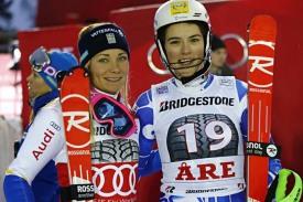 Петра Влхова (Словакия)  и Фрида Хансдоттер (Швеция)