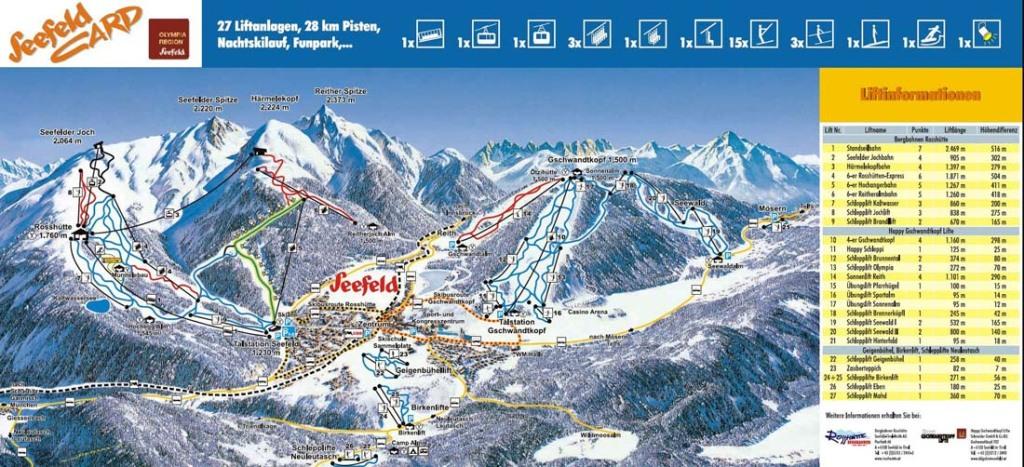 Seefeld-Gschwandtkopf-ski-map