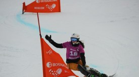 Natalia Soboleva (RUS) competes at PSL WC Moscow