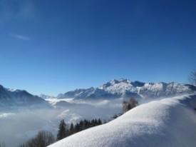 В лавине в Ла Клюза погиб горнолыжник