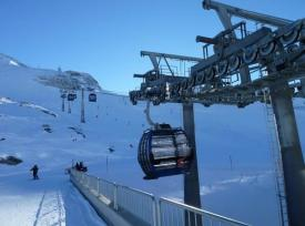 Hintertux new lift