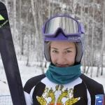 Анастасия Силантьева 16-я в слаломе