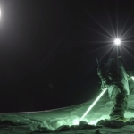 """Лунная дорожка """"Moon Line"""" - или ночь фрирайда с  Матье Бижансоном"""